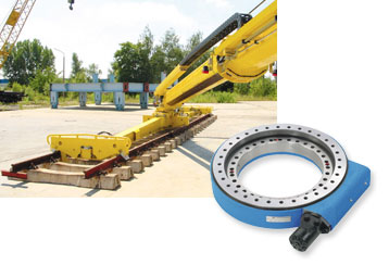 Railway slewing cranes are designed for multiple tasks such as bridge and railway construction as well as the utilisation as breakdown crane.